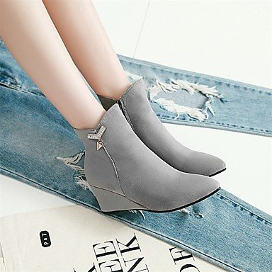 des chaussures bottes mode / bottine de similicuir des des des bottes d'hiver orteil bottines / bottines / mi - mollet des bottes noires dd6c3e