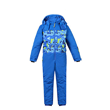 Phibee Dla dzieci Kombinezon narciarski Ciepły Fast Dry Keep Warm Wiatroodporna Zdatny do noszenia Antistatic Oddychalność Narciarstwo