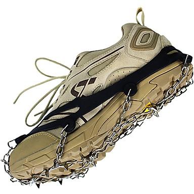 Korki i łańcuchy na buty / Raki Non-Slip / Anti-Wear Sporty zimowe Guma silikonowa / Metal cm szt
