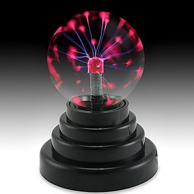 Oświetlenie LED Kule plazmowe Zabawka edukacyjna Szkło Dla dzieci Prezent 1pcs