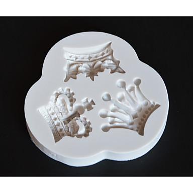 Narzędzia do pieczenia Silikonowa guma / żel krzemionkowy Nieprzylepny / Narzędzie do pieczenia / 3D Ciasteczka / Czekoladowy / Do naczynia do gotowania Formy Ciasta 1szt
