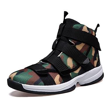 Herren Schuhe PU Herbst Winter Komfort Sneakers Leichtathletik Für Sportlich Grau Armeegrün