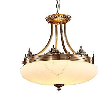 ZHISHU Lampy widzące Światło rozproszone - 3D, Wiejski Tradycyjny / Classic, 110-120V 220-240V Nie zawiera żarówki