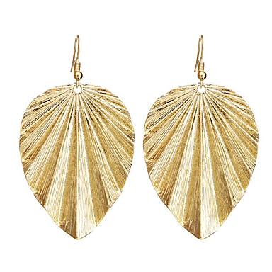 Damskie 1 Kolczyki wiszące Prosty Stop Nieregularny Biżuteria Gold Black Silver Codzienny Biżuteria kostiumowa
