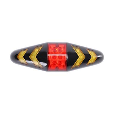 Tylna lampka rowerowa / światła bezpieczeństwa / Tylne światła LED Światła rowerowe - Kolarstwo z baterią, Pilot zdalnego sterowania, Wiele trybów AAA 100 lm 2 akumulatory AAA Wiele kolorów Kolarstwo