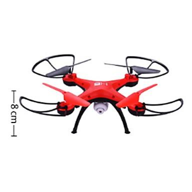 RC Drohne H2 4 Kanäle 2.4G Mit 2.0MP HD - Kamera Ferngesteuerter Quadrocopter Vorwärts rückwärts Ein Schlüssel Für Die Rückkehr Schweben
