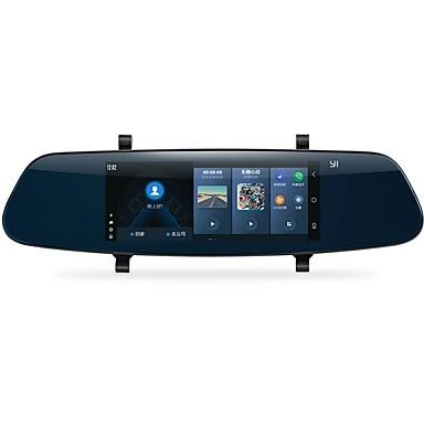 billige Bil-DVR-YI YI 1280 x 480 Bil DVR 140 grader Bred vinkel 6.95 tommers Kapasitiv skjerm Dash Cam med iOS-app / Android APP / WIFI Nei Bilopptaker / GPS / Parkeringsmodus / Innebygd Høytaler