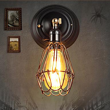 Rustykalny Lampy ścienne Domowy Metal Światło ścienne 220V 40 W / E27