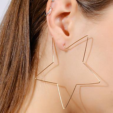 Damskie Kolczyki wiszące Prosty Modny Europejski Stop Hvězdičky Biżuteria Gold Silver Bar Biżuteria kostiumowa