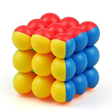 Kostka Rubika Kostka Wellness Ball 3*3*3 Gładka Prędkość Cube Magiczne kostki Puzzle Cube Edukacja / Zawody Prezent Dla dziewczynek