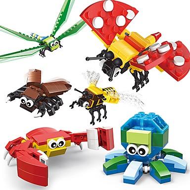 SHIBIAO Klocki 301 pcs Zwierzę Zwierzę Owad Dla chłopców Dla dziewczynek Zabawki Prezent