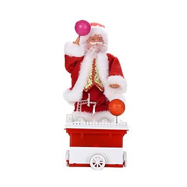hesapli Oyuncaklar ve Oyunlar-Noel Dekorayonu Yılbaşı Hediyeleri Noel Oyuncakları Oyuncaklar Santa Suits Tatil Tatil Yeni Dizayn Yumuşak Plastik Örgülü Kumaş Çocuklar