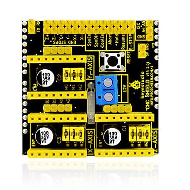 keyestudio cnc shield v2 maszyna do grawerowania / drukarka 3d / płyta rozszerzeń sterownika a4988 dla arduino