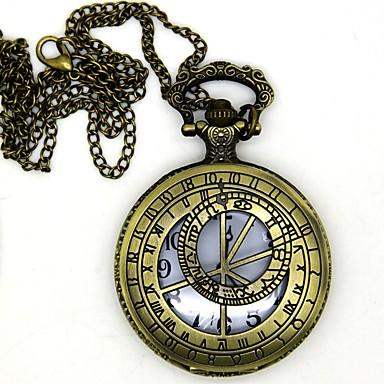Zegar / zegarek Zainspirowany przez Assassin Conner Anime Akcesoria do Cosplay 1 Naszyjnik / Zegar / zegarek / Broszka Stop cynkowy Kostiumy na Halloween
