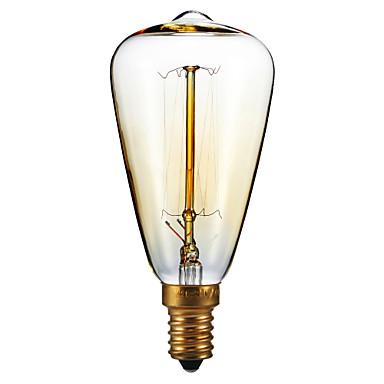 1pc 40W E14 ST48 2300 K Incandescent Vintage Edison Light Bulb 220-240V