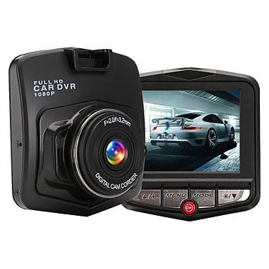 M001 HD 1280 x 720 / 1080p Bil DVR 120 grader / 140 grader Vid vinkel 2.4inch LCD Dash Cam med Vitbalans / Fotografera / Inbyggd Mikrofon