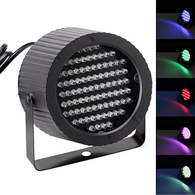 U'King Oświetlenie LED sceniczne Żarówki LED Par DMX 512 Master-Slave Aktywowana Dźwiękiem Auto 25 na Klub Ślub Scena Impreza
