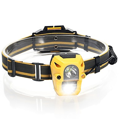 Czołówki światła bezpieczeństwa Pasy reflektorów 120 lm 1 Tryb LED Obóz/wycieczka/alpinizm jaskiniowy Do użytku codziennego Kolarstwo