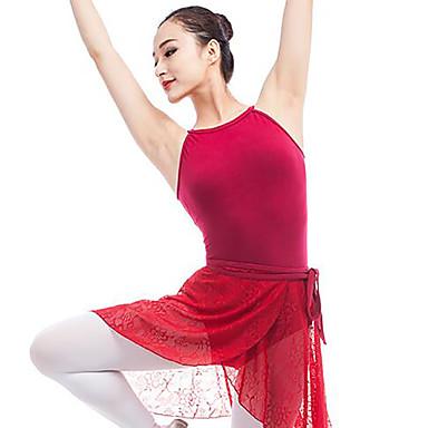 Balet Leotards Damskie Wydajność Elastan Gore Bez rękawów Naturalny Trykot opinający ciało / Śpiochy dla dorosłych