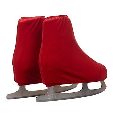 טייץ מכסה מגפיים להחלקה אמנותית כל החלקה על הקרח תחתיות אדום ורד / כחול סקיי / בורדו אימון ביגוד להחלקה על הקרח אחיד החלקה אמנותית