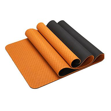 Yoga Matı Kokusuz, Çevre-dostu, Yapışkan TPE Su Geçirmez, Hızlı Kuruma, Kaymaz İçin Yoga / Pilates Yeşil, Mavi, Pembe