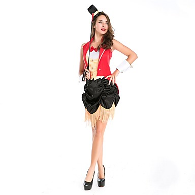 Ringmaster Circus Cosplay Costume Party Costume Womenu0027s Halloween Carnival Festival / Holiday Halloween Costumes Red Color  sc 1 st  LightInTheBox & Ringmaster Circus Cosplay Costume Party Costume Womenu0027s Halloween ...