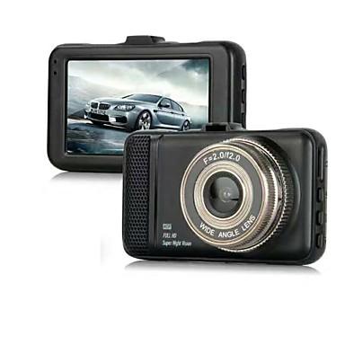 abordables DVR de Voiture-848 x 480 / 1280 x 720 / 1440 x 1080 DVR de voiture 170 Degrés Grand angle 3 pouce Dash Cam avec G-Sensor / Mode Parking Non Enregistreur de voiture / 1920 x 1080