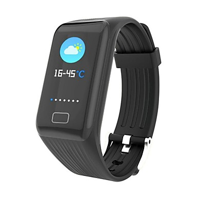 YY-X1PLUS ל Android 4.4 / iOS / MIUI 8 מודד לחץ דם / כלוריות שנשרפו / מד צעדים / Anti-האבוד / בקרת APP Tracker דופק / מד צעדים / מזכיר שיחות / מד פעילות / מעקב שינה / תזכורת בישיבה / Alarm Clock