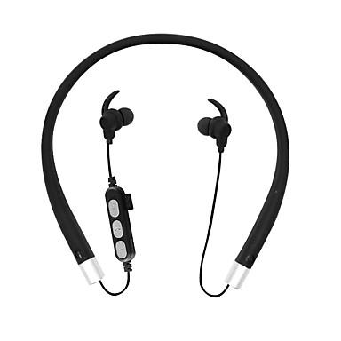 MS-T10 צוואר הצוואר אלחוטי אוזניות דִינָמִי פלסטי ספורט וכושר אֹזְנִיָה עם בקרת עוצמת הקול / עם מיקרופון אוזניות