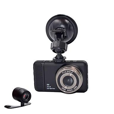 voordelige Automatisch Electronica-848 x 480 / 1280 x 720 / 1440 x 1080 Auto DVR 170 graden Wijde hoek 3 inch(es) Dash Cam met G-Sensor / Parkeermodus Neen Autorecorder / 1920 x 1080