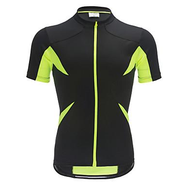 Jaggad Muškarci / Žene Kratkih rukava Biciklistička majica Bicikl Biciklistička majica, Quick dry, Prozračnost Poliester