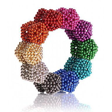 povoljno Igračke i igre-216/512/1000 pcs 5mm Magnetne igračke Magnetske kuglice Kocke za slaganje Snažni magneti Magnetska igračka Classic & Timeless Stres i anksioznost reljef Uredske stolne igračke Uradi sam Dječji