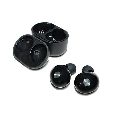 IP010 באוזן אלחוטי אוזניות דִינָמִי פלסטי טלפון נייד אֹזְנִיָה מיני / עם תיבת טעינה / עם מיקרופון אוזניות