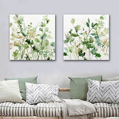 Canvas Print Modern, Two Panels Canvas Square Print Wall Decor Home Decoration