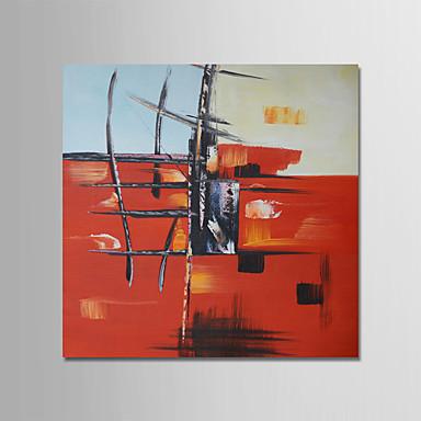 ציור שמן צבוע-Hang מצויר ביד - מופשט עכשווי מודרני בַּד