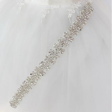 מתכת חתונה / אירוע מיוחד אבנט עם ריינסטון / דמוי פנינה בגדי ריקוד נשים אבנטים