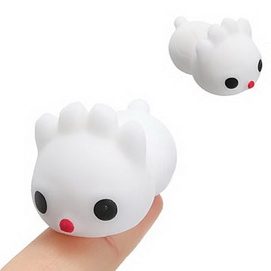 LT.Squishies צעצוע מעיכה Rabbit / חיה חיה Office צעצועים במשרד / הפגת מתחים וחרדה / צעצועים לחץ לחץ דם 6pcs יוניסקס מתנות