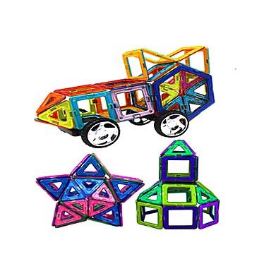 בלוק מגנטי / אבני בניין 95pcs נושא קלאסי / ארכיטקטורה / רכבים טרנספורמבל / אינטראקציה בין הורים לילד שיק ומודרני / סרט מצוייר משאית /