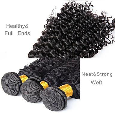 3 חבילות שיער ברזיאלי גל עמוק שיער בתולי טווה שיער אדם שוזרת שיער אנושי תוספות שיער אדם