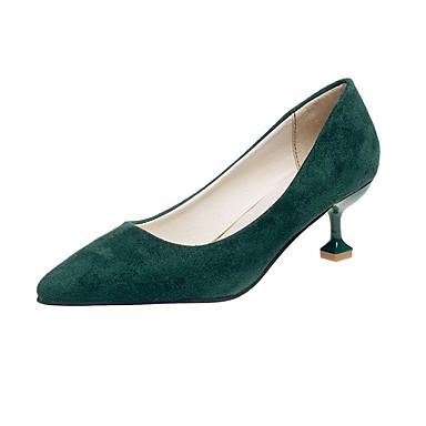 Mulheres Sapatos Camurça Verão Conforto Chinelos e flip-flops Sandálias Caminhada Sem Salto Dedo Aberto Combinação para Casual Preto
