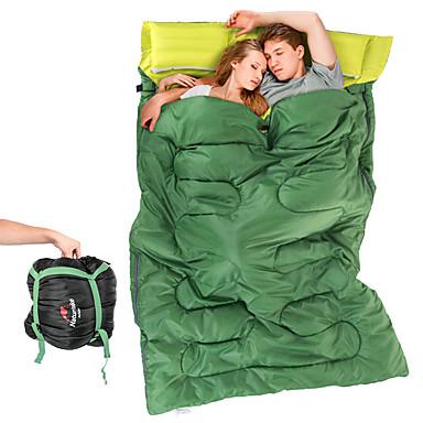 Naturehike Saco de dormir Largura Dupla 8°C Descanso em Viagens Acampar e Caminhar Exterior Todas as Estações Casal (L200 cm x C200 cm)