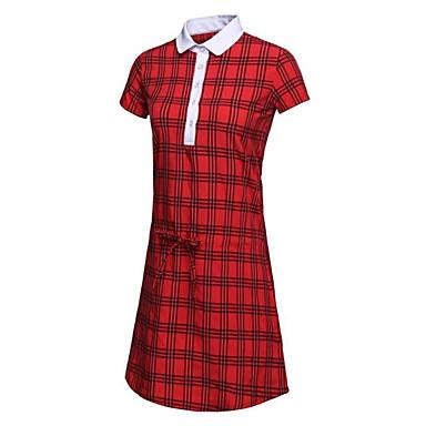 בגדי ריקוד נשים גולף שמלות ייבוש מהיר עמיד לביש נשימה גולף פעילות חוץ