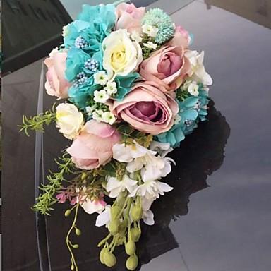פרחי חתונה זרים עיצוב מיוחד לחתונה אחרים חתונה מסיבה\אירוע ערב נשף רקודים חומר 0-10  ס