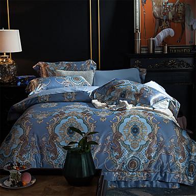 ensembles housse de couette boh me 4 pi ces modal tencel. Black Bedroom Furniture Sets. Home Design Ideas