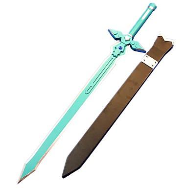 חרב קיבל השראה מ Sword Art Online Kirito אנימה אביזרי קוספליי חרב עץ