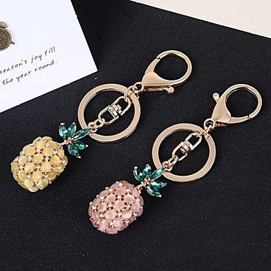 חתונה / חברים / יומהולדת מצדדים במחזיק מפתחות אבן נוצצת / סגסוגת אבץ מזכרות מחזיקי מפתחות - 1 pcs כל העונות
