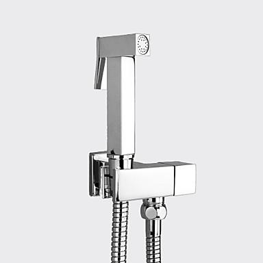 Sprinkle®Bidet Faucets - Modern Cromado de Parede Retirada Uma Abertura