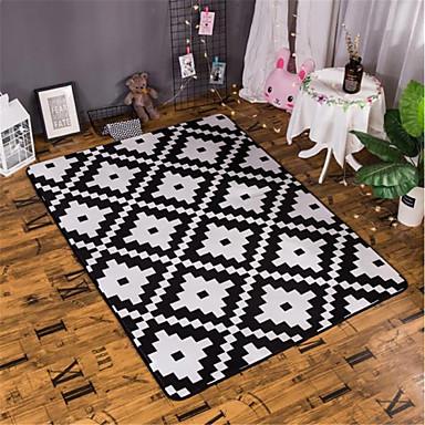 שטח שטיחים מודרני קשור / פלנלית, מָטוֹס / מלבני איכות מעולה שָׁטִיחַ / החלקה ללא לטקס