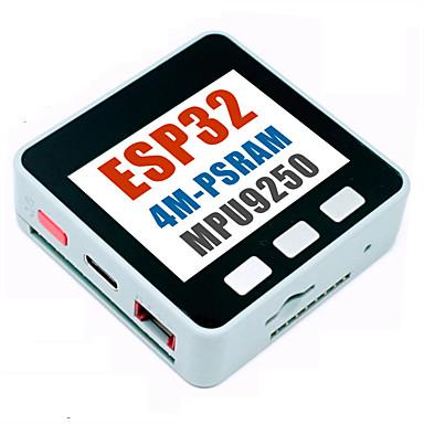 M5STACK החדש ביותר 4M-PSRAM ESP32 לוח פיתוח עם Mpu9250 9Dof חיישן צבע LCD עבור מיקרודיטון ארדואינו עם סוללה 150mAh