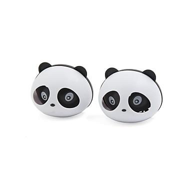 Недорогие Очистители воздуха для авто-2 шт. Panda в форме автомобиля освежитель воздуха с двумя зажимами